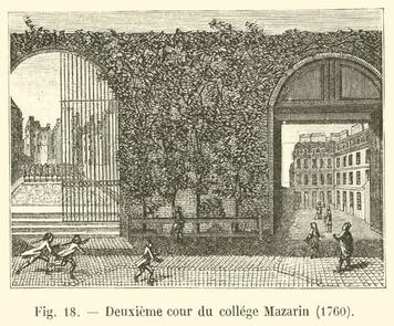 Le collège des Quatre Nations : vie et fonctionnement d'un collège dans le Paris des Lumières