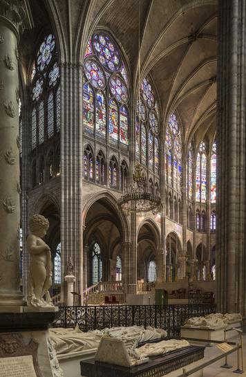 Les tombeaux des rois de France
