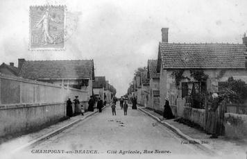 La cité agricole de Champigny-en-Beauce