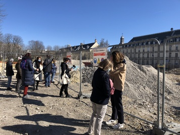 Visite du futur quartier Saint-Vincent-de-Paul