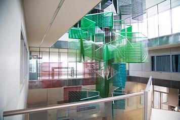 Course d'orienation autour des œuvres du Campus universitaire de Dijon